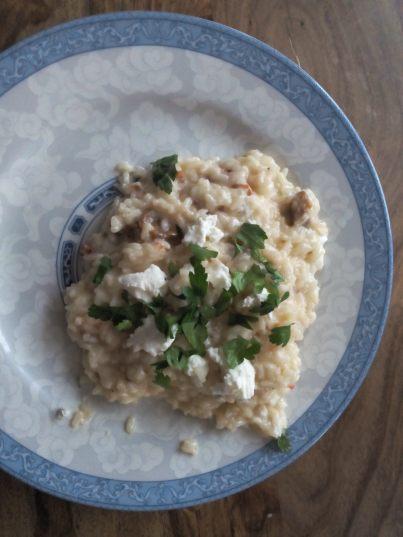 risotto aux tomates confites